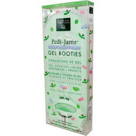 Earth Therapeutics, Pedi-Jams Gel Booties, Sole Softening, 1 Pair