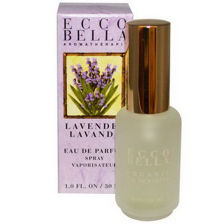 Ecco Bella, Aromatherapy Spray, Lavender 30ml