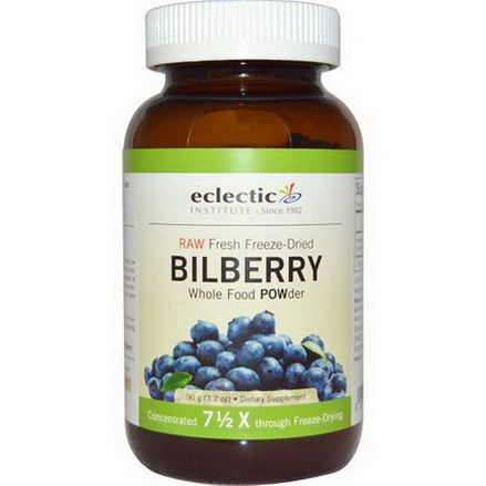 Eclectic Institute, Bilberry, Whole Food POWder 90g