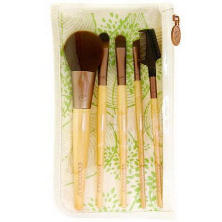 EcoTools, Bamboo 6 Piece Brush Set, 1 Set