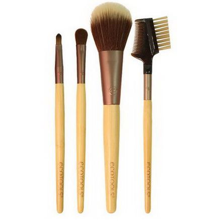 EcoTools, Touch-Up Set, 4 Piece Set