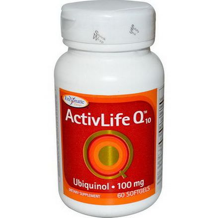 Enzymatic Therapy, ActivLife Q10, 100mg, 60 Softgels