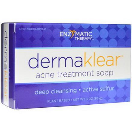 Enzymatic Therapy, DermaKlear Acne Treatment Soap 85g