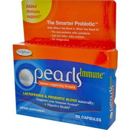 Enzymatic Therapy, Pearls Immune, Immune-Strengthening Formula, 30 Capsules