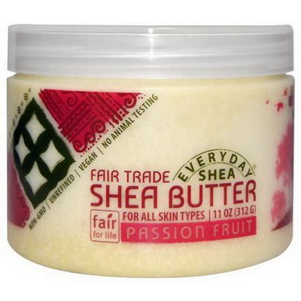 Everyday Shea, Shea Butter, Passion Fruit 312g