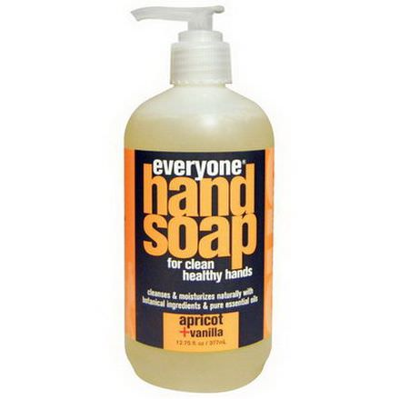 Everyone, Hand Soap, Apricot Vanilla 377ml