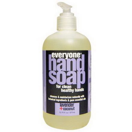 Everyone, Hand Soap, Lavender Coconut 377ml