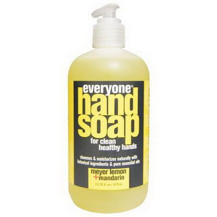 Everyone, Hand Soap, Meyer Lemon Mandarin 377ml