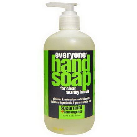 Everyone, Hand Soap, Spearmint Lemongrass 377ml