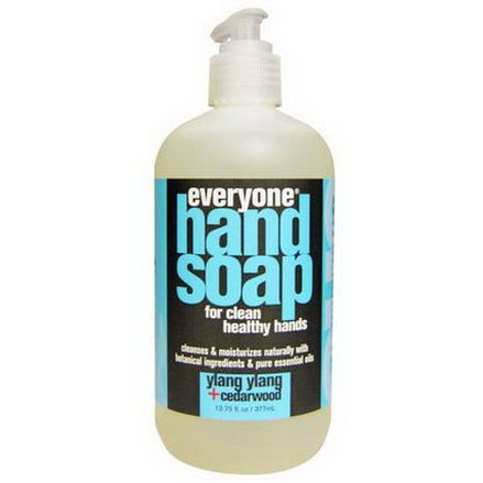 Everyone, Hand Soap, Ylang Ylang Cedarwood 377ml