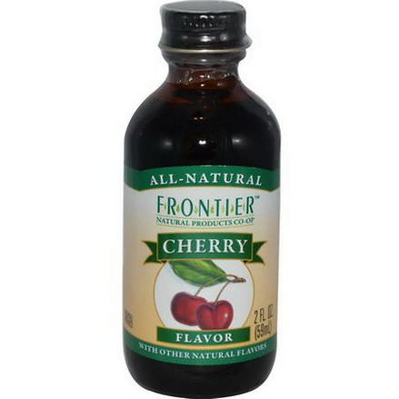 Frontier Natural Products, Cherry Flavor 59ml