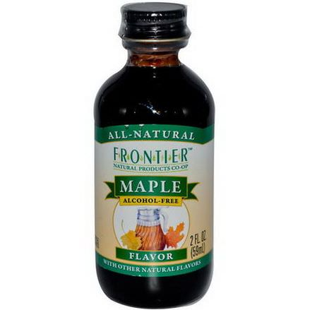 Frontier Natural Products, Maple Flavor, Alcohol-Free 59ml