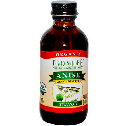 Frontier Natural Products, Organic Anise Flavor, Alcohol-Free 59ml