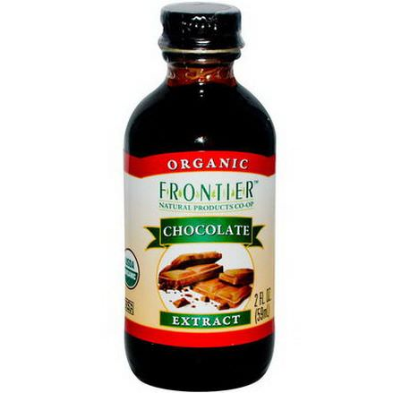 Frontier Natural Products, Organic Chocolate Extract 59ml
