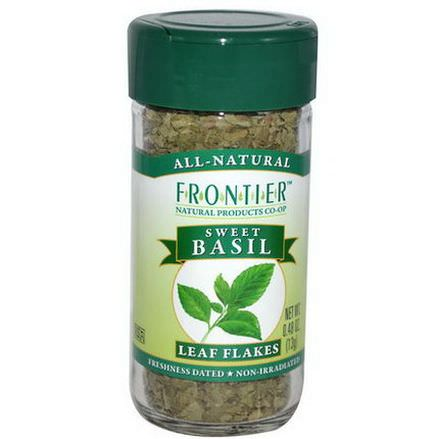 Frontier Natural Products, Sweet Basil, Leaf Flakes 13g