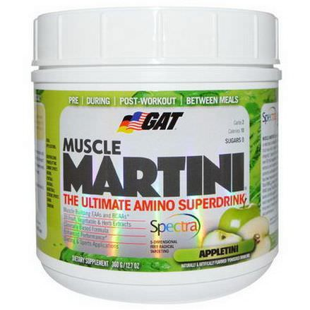 GAT, Muscle Martini, Appletini 360g