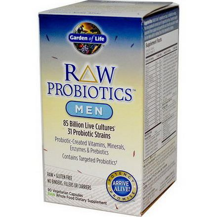 Garden of Life, RAW Probiotics, Men Ice