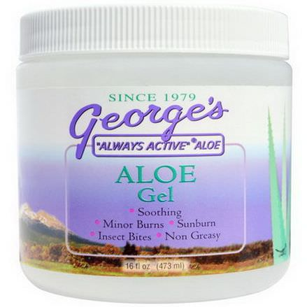 George's Aloe Vera, Aloe Gel 473ml