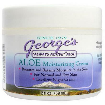 George's Aloe Vera, Aloe Moisturizing Cream 59ml