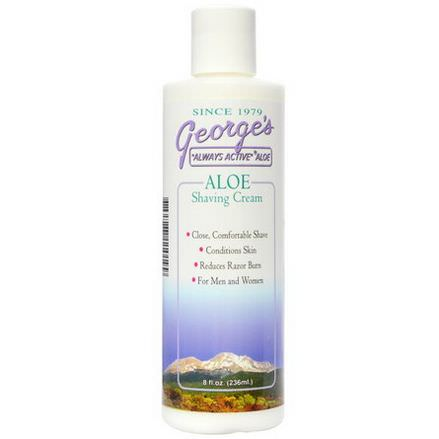 George's Aloe Vera, Aloe Shaving Cream 236ml
