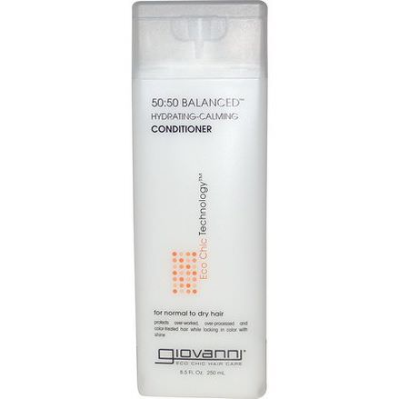 Giovanni, 50:50 Balanced, Hydrating-Calming Conditioner 250ml