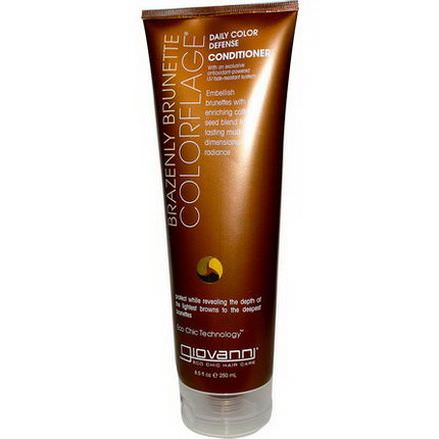 Giovanni, ColorFlage, Daily Color Defense Conditioner, Brazenly Brunette 250ml