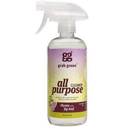GrabGreen, All Purpose Cleaner, Thyme with Fig Leaf 473ml