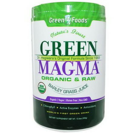 Green Foods Corporation, Green Magma, Barley Grass Juice 300g