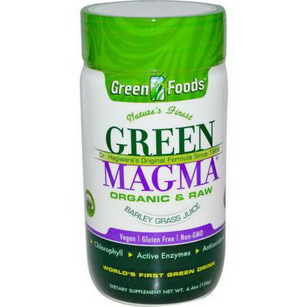 Green Foods Corporation, Green Magma, Barley Grass Juice, 500mg, 250 Tablets