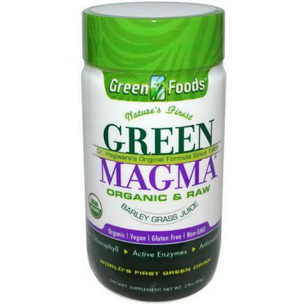 Green Foods Corporation, Green Magma, Barley Grass Juice Powder 80g