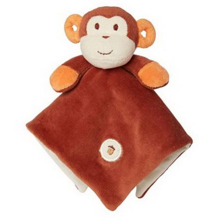 Greenpoint Brands, Lovie Blankie, Brown Monkey, 1 Blankie