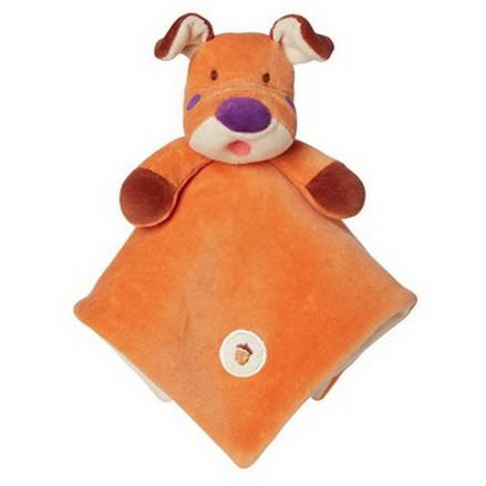 Greenpoint Brands, My Natural, Lovie Blankie, Orange Dog, 1 Blankie