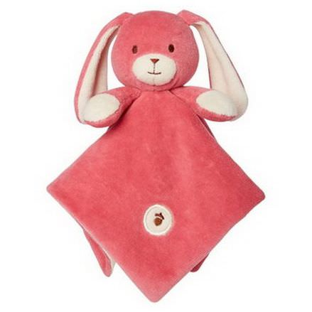 Greenpoint Brands, My Natural, Lovie Blankie, Pink Bunny, 1 Blankie