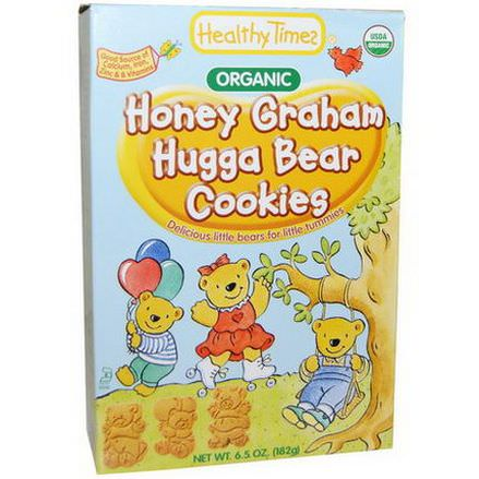 Healthy Times, Honey Graham Hugga Bear Cookies 182g