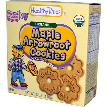 Healthy Times, Organic Maple Arrowroot Cookies 140g