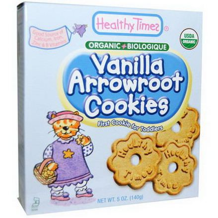 Healthy Times, Vanilla Arrowroot Cookies 140g