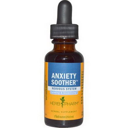 Herb Pharm, Anxiety Soother 29.6ml