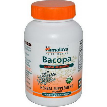 Himalaya Herbal Healthcare, Bacopa, 60 Caplets