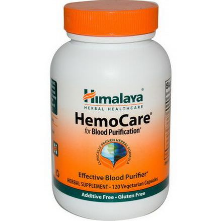 Himalaya Herbal Healthcare, HemoCare, 120 Veggie Caps