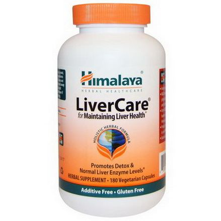 Himalaya Herbal Healthcare, Liver Care, 180 Veggie Caps