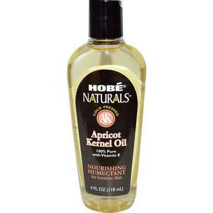 Hobe Labs, Naturals, Apricot Kernel Oil 118ml