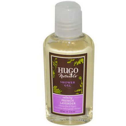 Hugo Naturals, Shower Gel, French Lavender 60ml