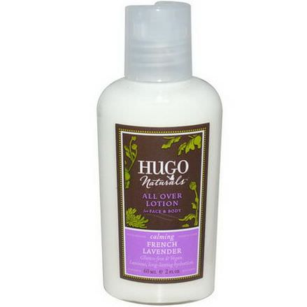 Hugo Naturals, All Over Lotion, French Lavender 60ml
