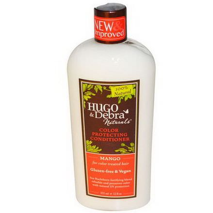 Hugo Naturals, Color Protecting Conditioner, Mango 355ml