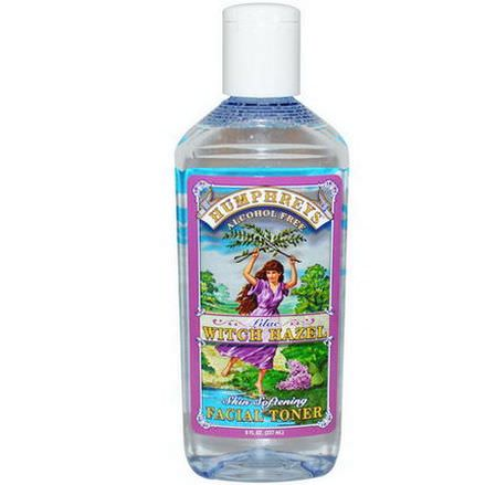 Humphrey's, Skin Softening Facial Toner, Lilac Witch Hazel, Alcohol Free 237ml