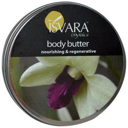 Isvara Organics, Body Butter, 4 oz