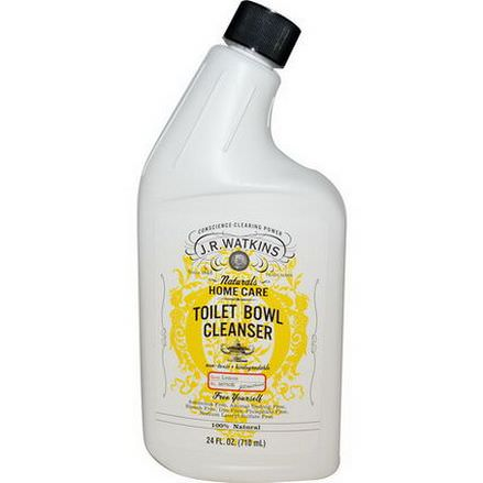 J R Watkins, Toilet Bowl Cleanser, Lemon 710ml