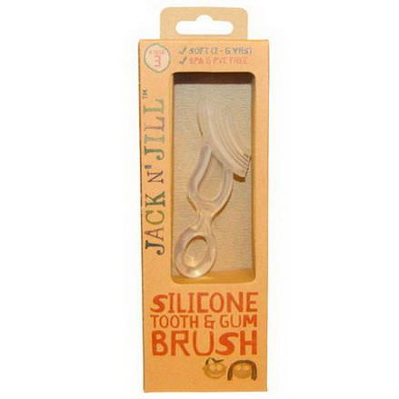 Jack n'Jill, Silicone Tooth&Gum Brush, Stage 3, 1 Brush