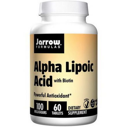 Jarrow Formulas, Alpha Lipoic Acid, 100mg, 60 Tablets