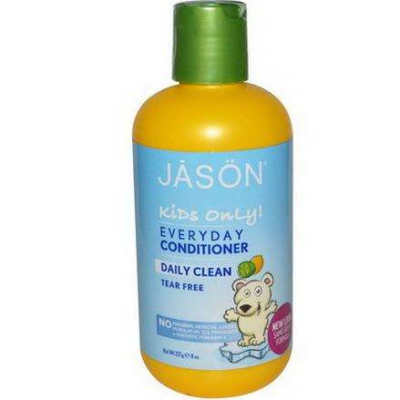Jason Natural, Kids Only! Everyday Conditioner, Daily Clean 227g